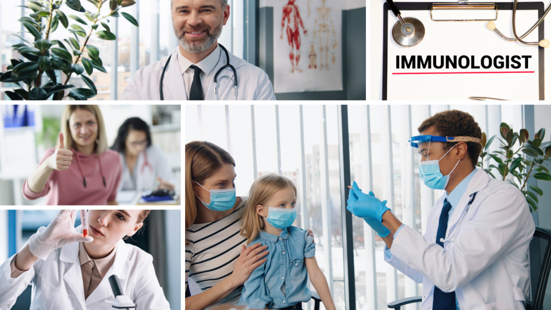 Immunologists medical second opinion
